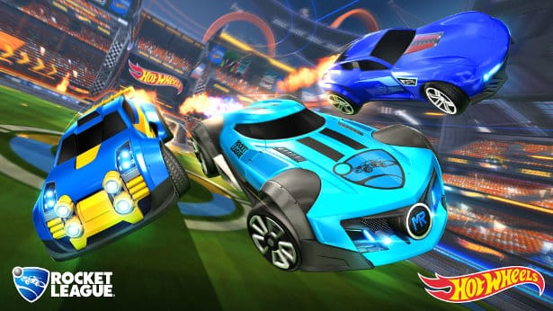 hot wheels reveal new rocket league dlc on linux steamos mac windows