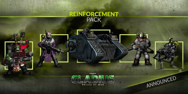warhammer 40k gladius dlc reinforcement pack release date linux windows