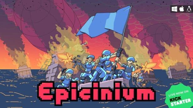 epicinium turn based wargame hits kickstarter for linux mac windows