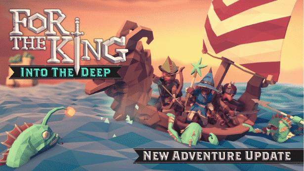 for the king dlc into the deep coming free on linux mac windows