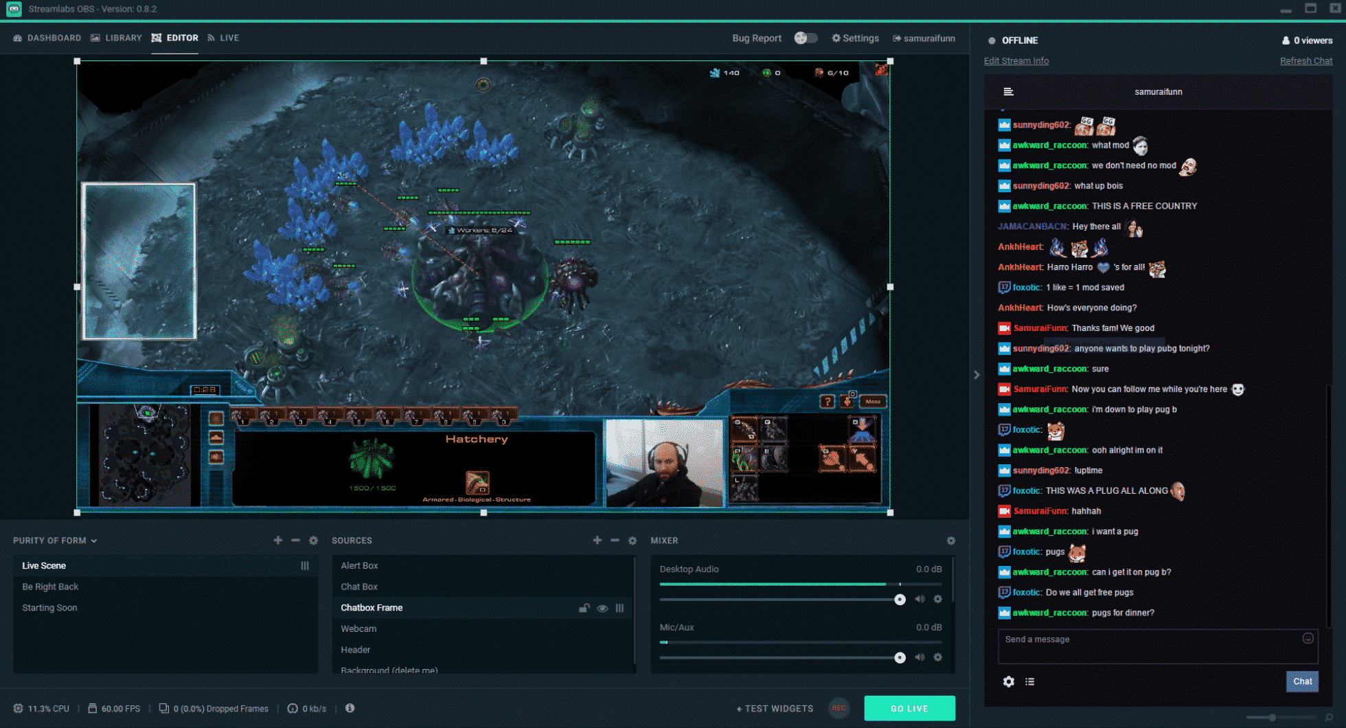 streamlabs obs update for linux development support