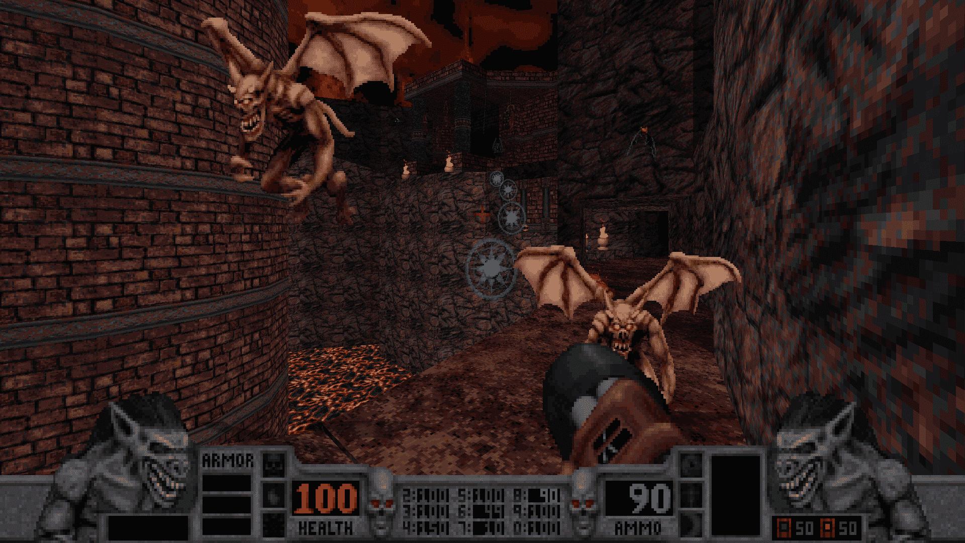 blood classic in development with vulkan linux screenshot 01
