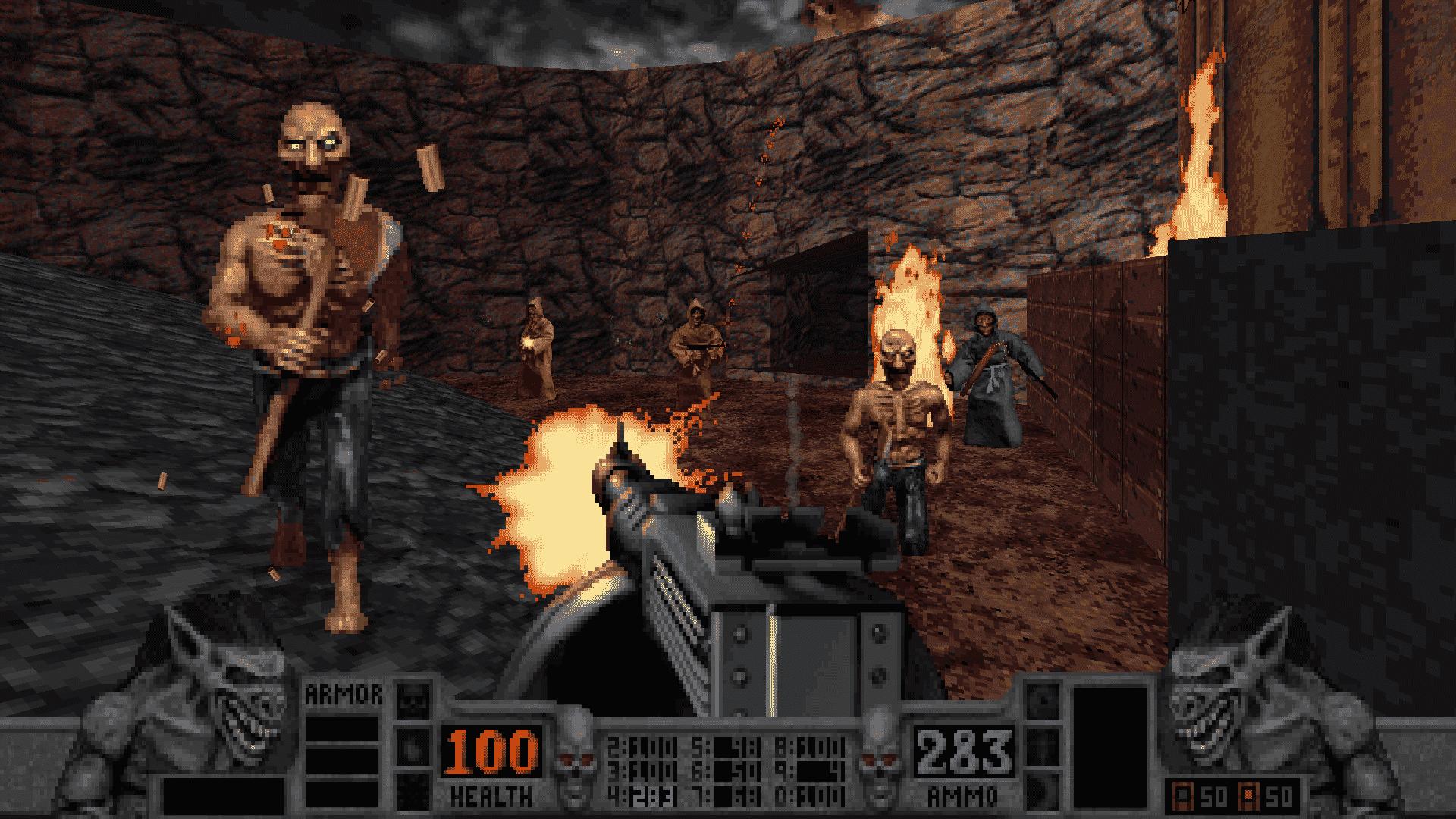 blood classic in development with vulkan linux screenshot 03
