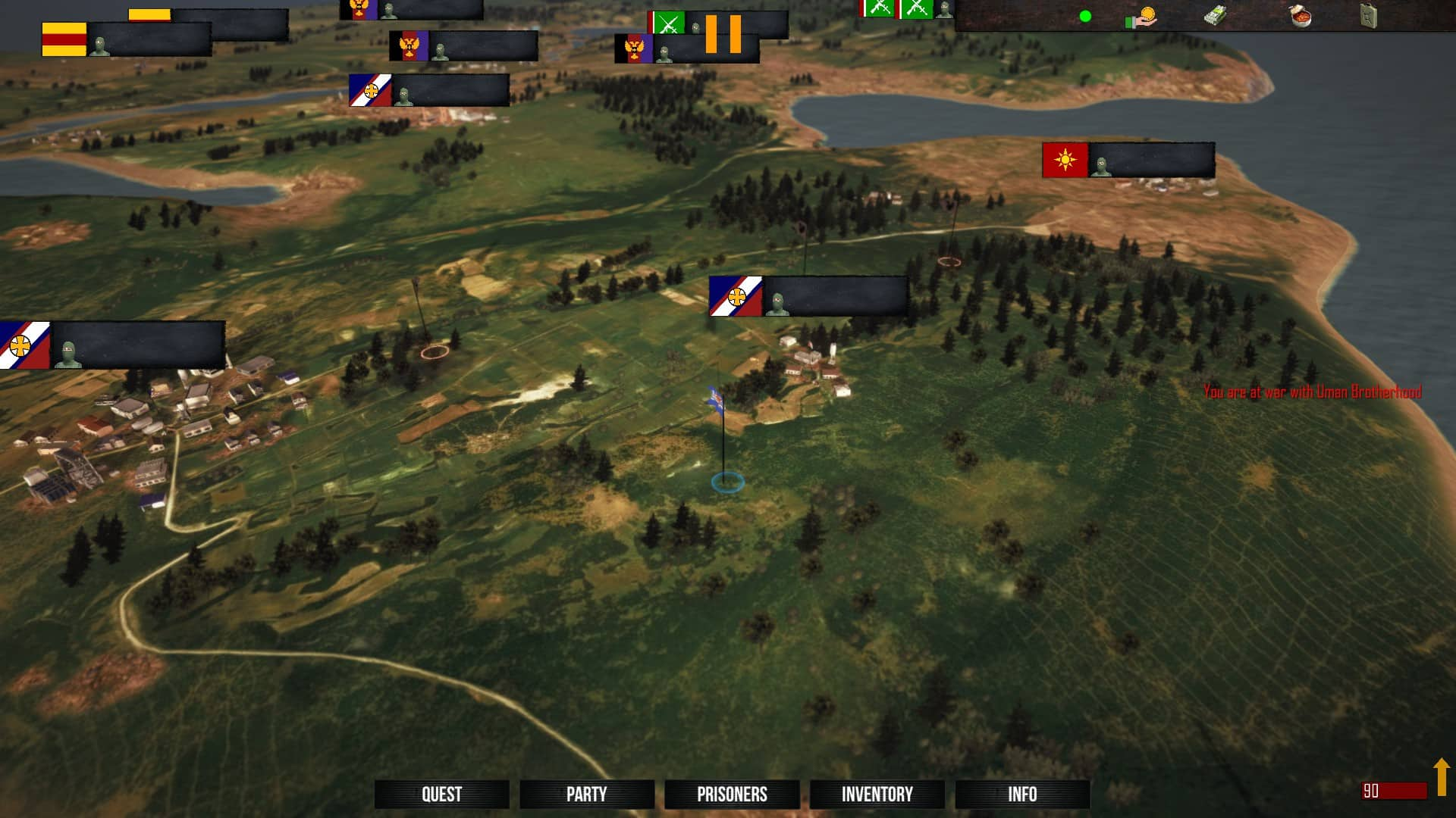 freeman guerrilla warfare linux steam play proton in game screenshot