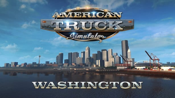 American Truck Simulator new DLC Washington