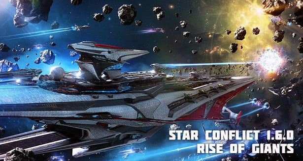 rise of giants new content update star conflict linux mac windows games