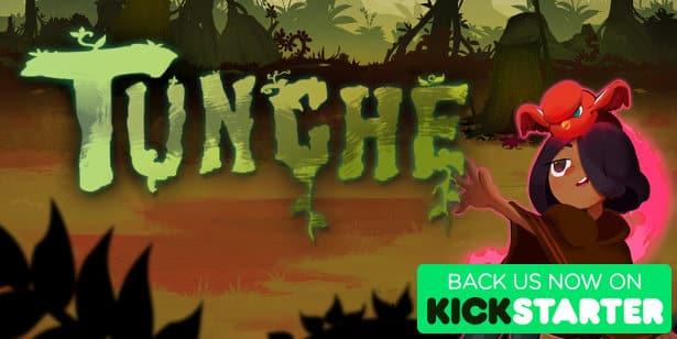 Tunche 2D beat em up doing well on Kickstarter
