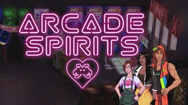 arcade spirits visual novel launches in linux mac windows games