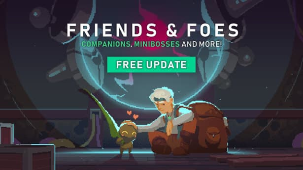 Moonlighter releases 'Friends and Foes' Update