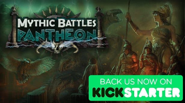 mythic battles pantheon kickstarter and support in linux windows games