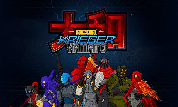 Neon Krieger Yamato a new co-op platformer