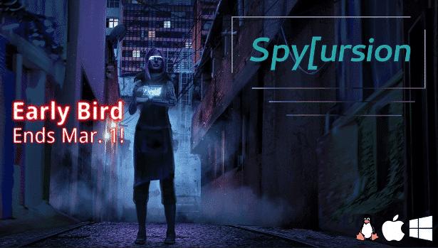 spycursion hacking mmo now on kickstarter in linux mac windows games