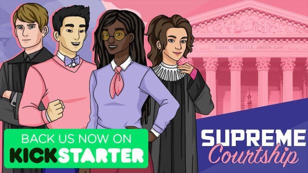 supreme courtship humour meets kickstarter in linux mac windows games