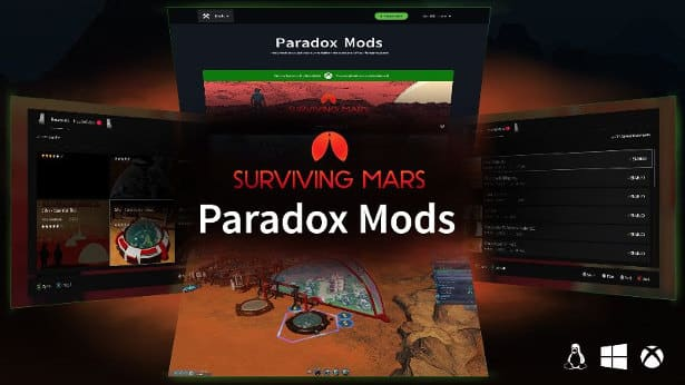 surviving mars now has modding support in linux windows games