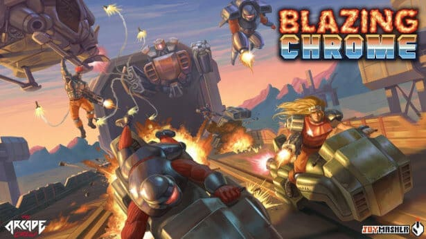 blazing chrome retro co-op games linux reevaluation