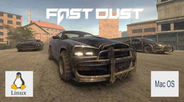 FAST DUST racing has a Linux and Mac build