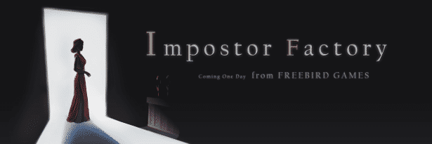 Impostor Factory thriller mystery coming 2020