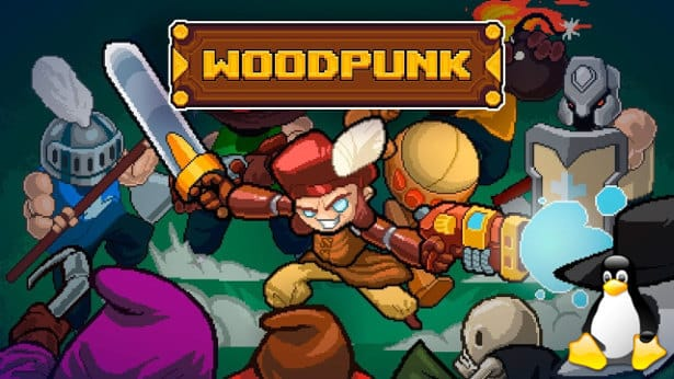 woodpunk bullet hell action comes to linux games