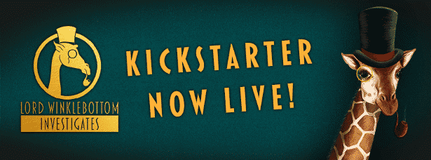 Lord Winklebottom Investigates on Kickstarter
