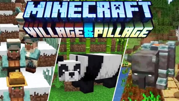 village and pillage update releases for minecraft in linux mac windows pc games