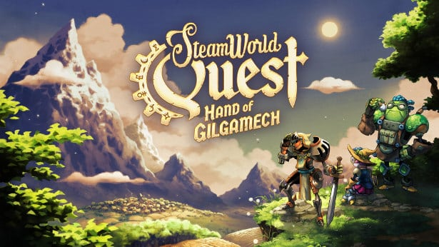 steamworld quest rpg card title launches in linux mac windows pc games
