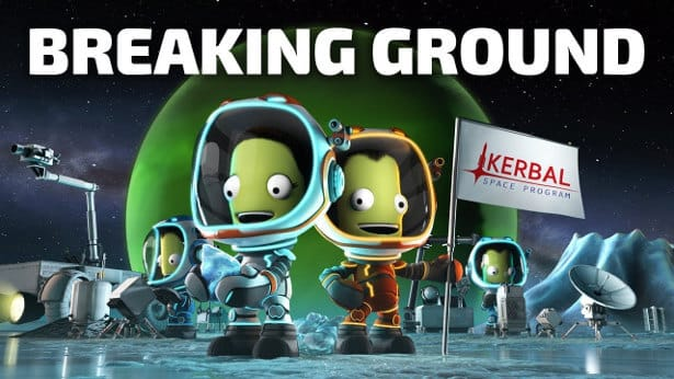 Breaking Ground out for Kerbal Space Program