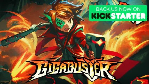 GIGABUSTER platformer on Kickstarter – Demo