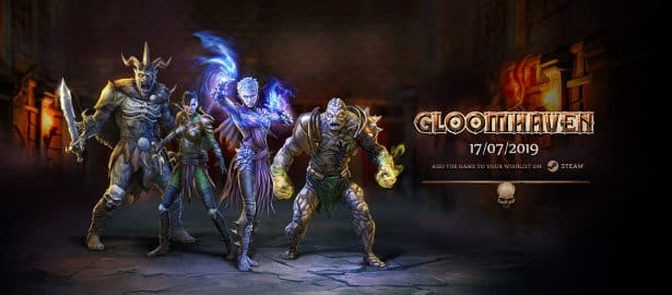 Gloomhaven tactical RPG has a release date