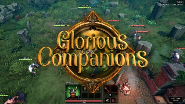 Glorious Companions tactical RPG support
