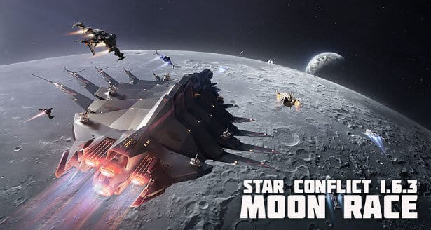 Moon Race update releases for Star Conflict