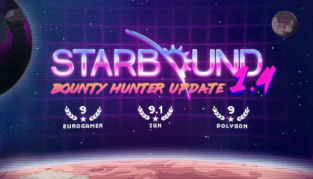 starbound 1.4 releases bounty hunter update in linux mac windows pc games