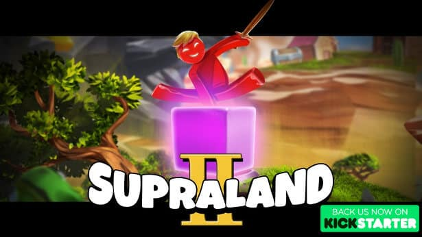 Supraland 2 metroidvania is live on Kickstarter