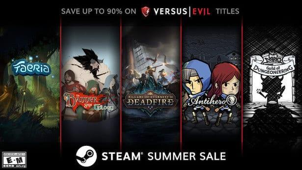 Versus Evil deals in the Steam Summer Sale