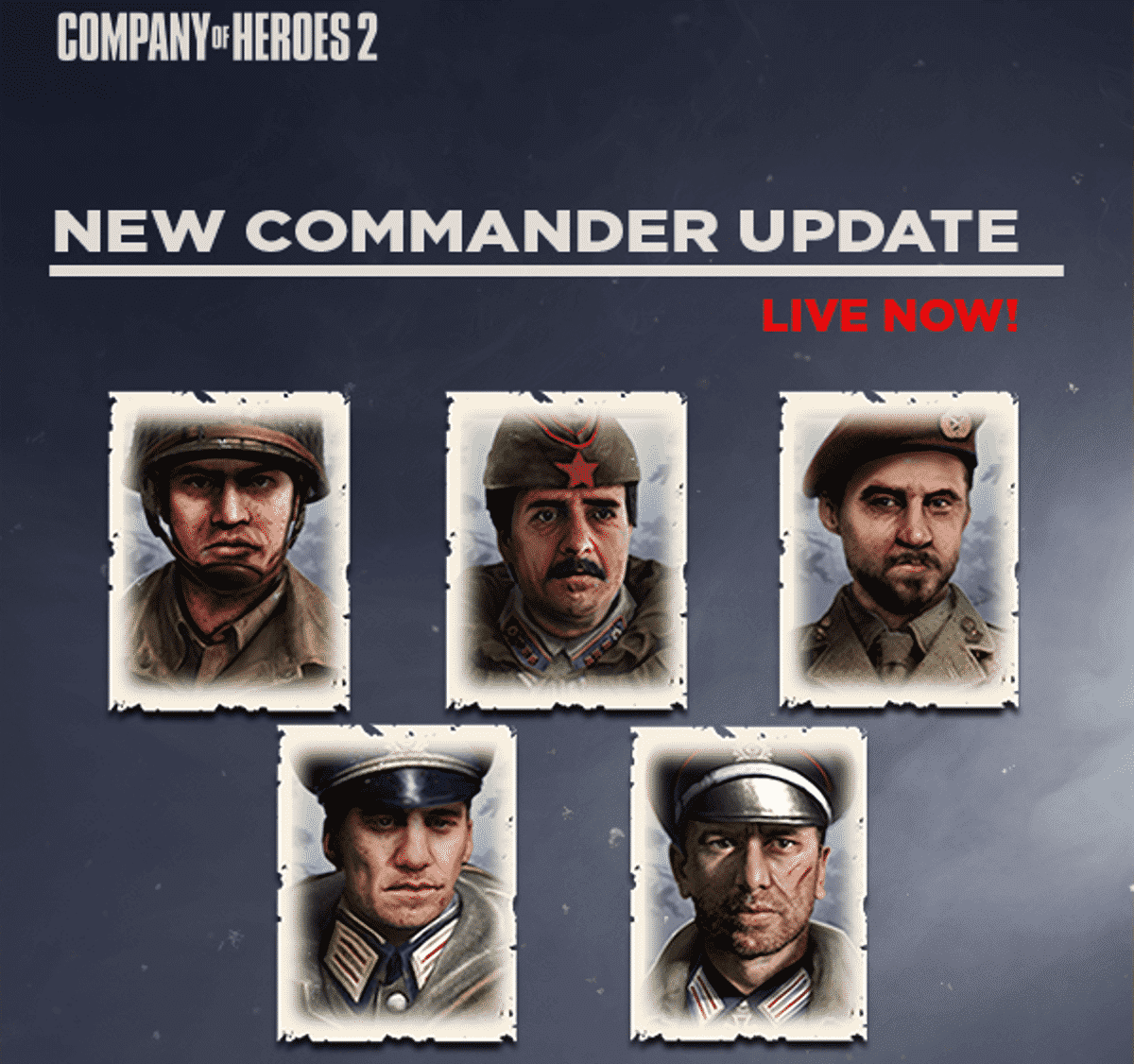 company of heroes 2 adds five new commanders for linux mac and windows pc