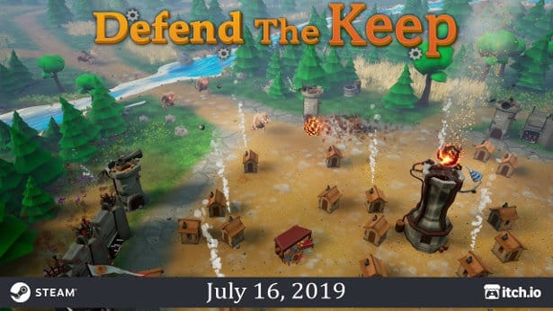 defend the keep linux build and the games release for windows pc