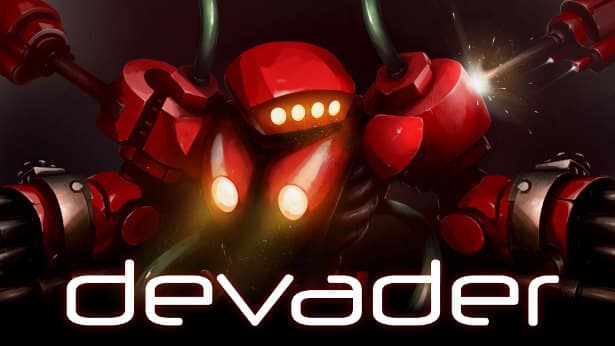 Devader twin stick shooter release and Demo