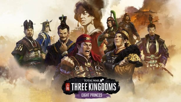 eight princes pack dlc release for three kingdoms on linux mac windows pc