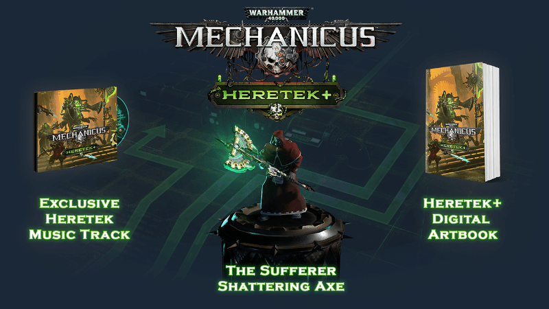 heretek expansion release for warhammer 40,000 mechanicus whats included