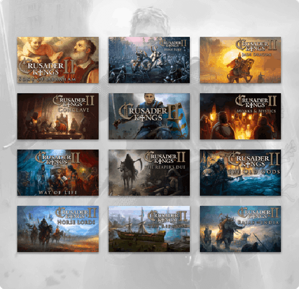 humble crusader kings II bundle launches expansions for linux mac windows pc