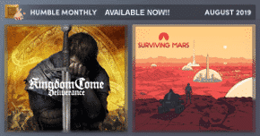 humble monthly bundle august 2019 linux mac windows pc games