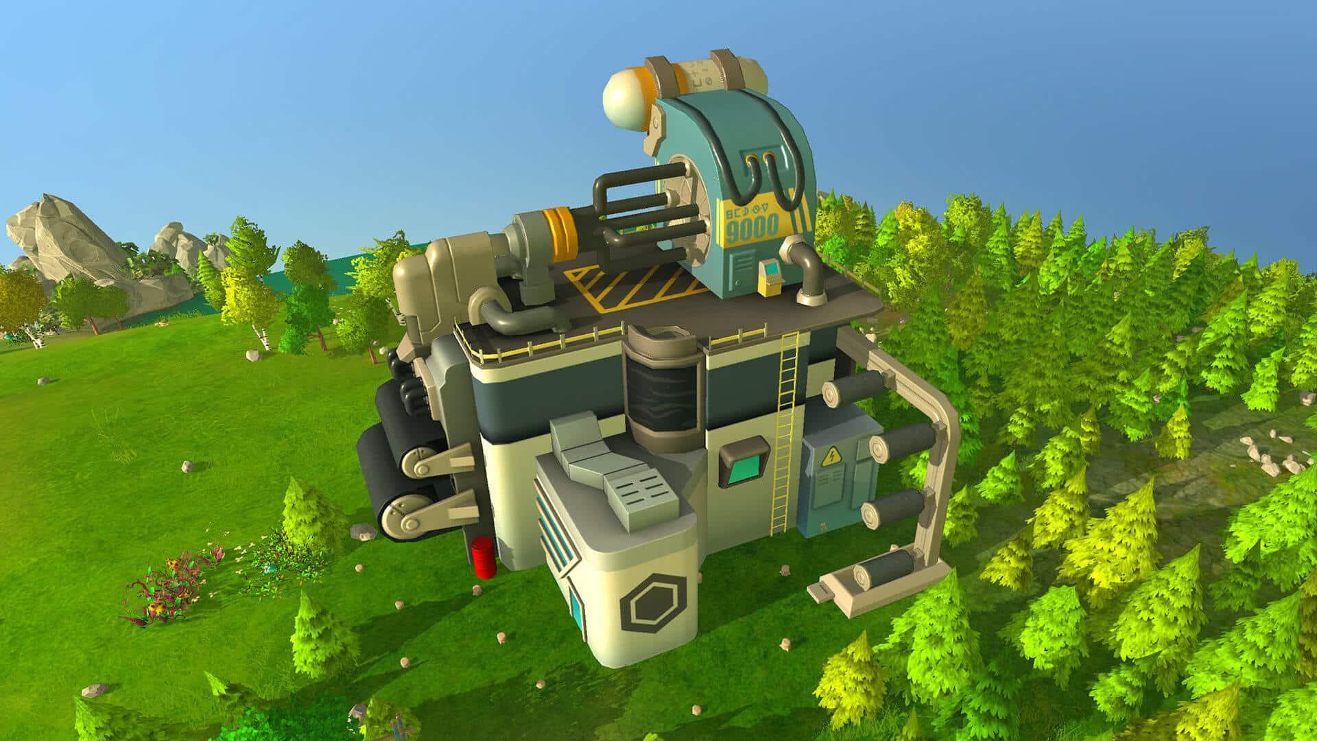the universim extraterrestrial update carbon factory screenshot