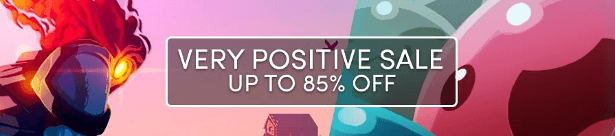 the very positive sale includes great games for linux mac windows pc