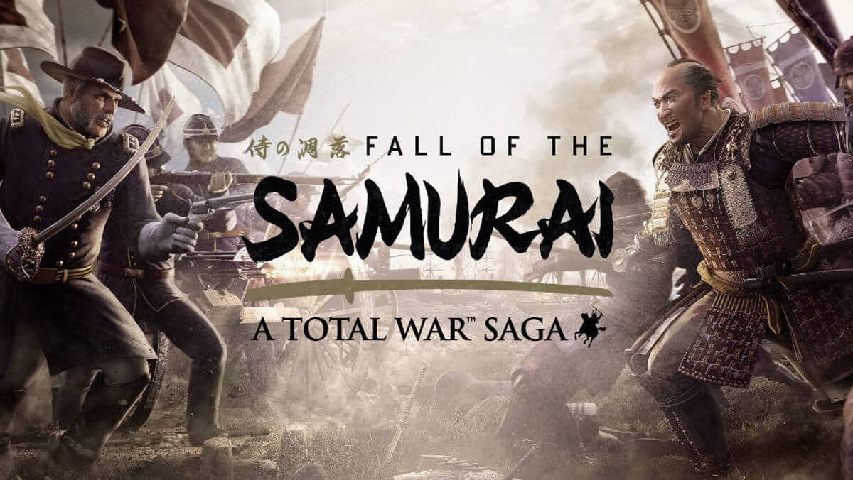 fall of the samurai joins total war saga family of games for linux mac windows pc