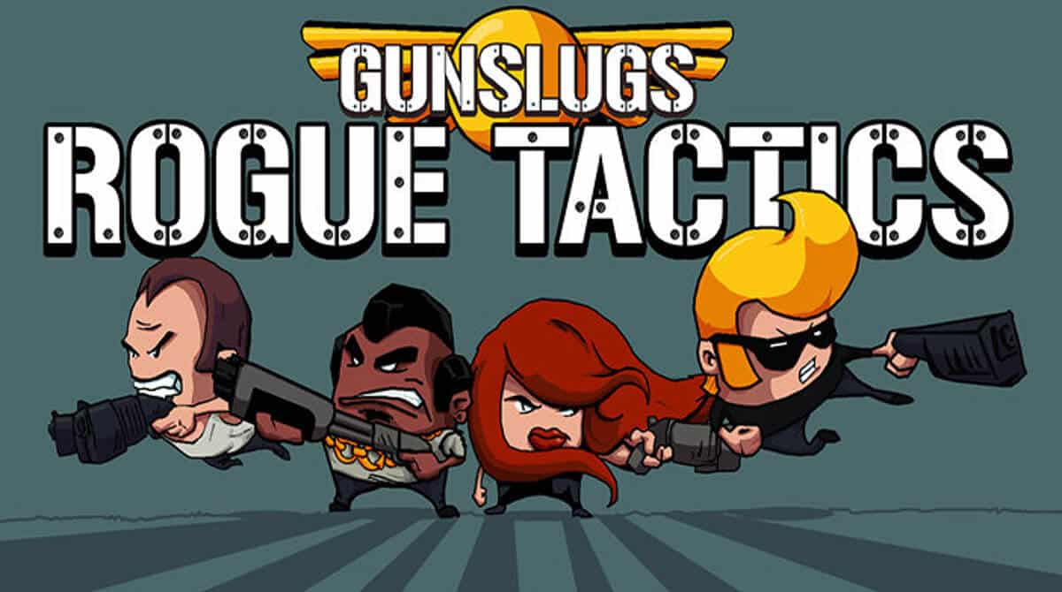 gunslugs rogue tactics action roguelite releases on linux mac windows pc