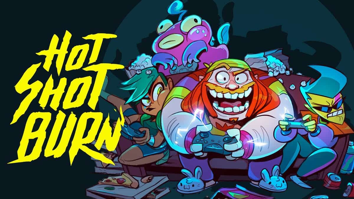 hot shot burn game support for the hilariously brawler on linux windows pc