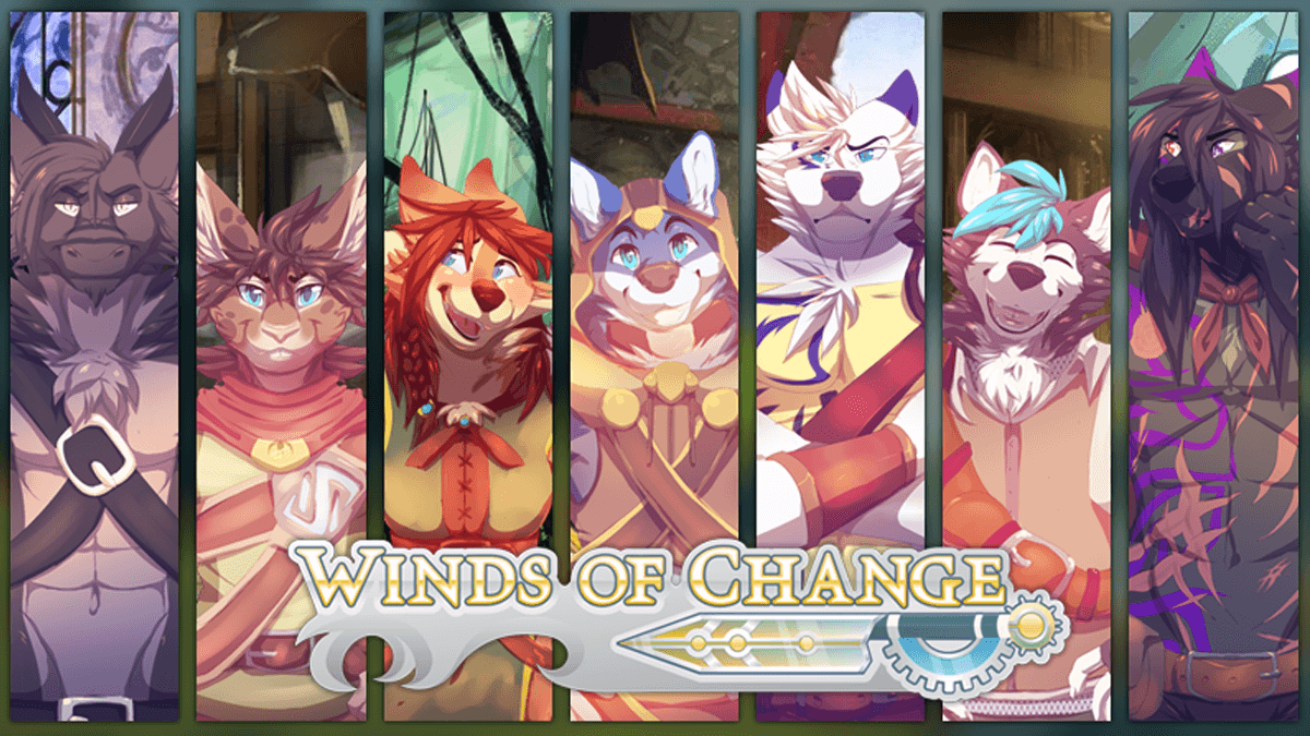 Winds of Change furry visual novel releases