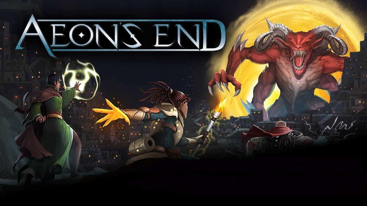 aeon's end epic deck-building game releases on linux mac windows pc