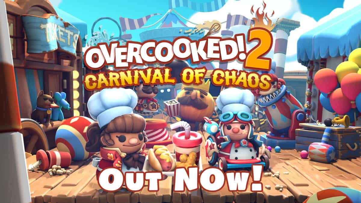 carnival of chaos dlc releases for overcooked 2 on linux mac windows pc