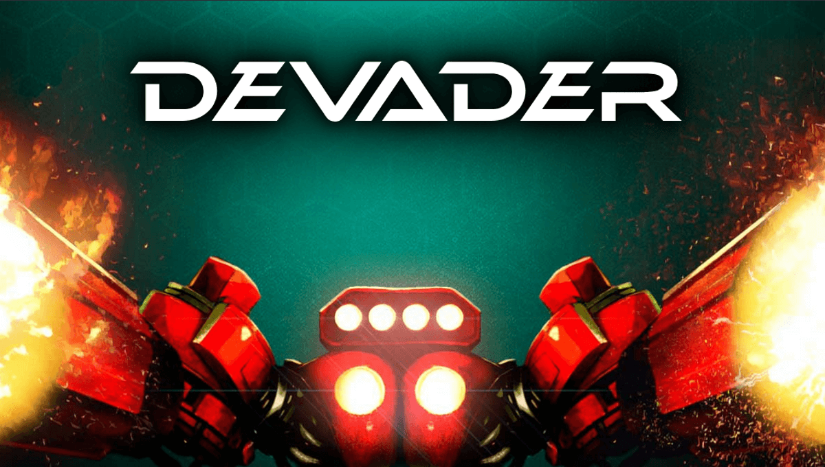 devader twin-stick shoot em up game releases with day one support on linux mac windows pc
