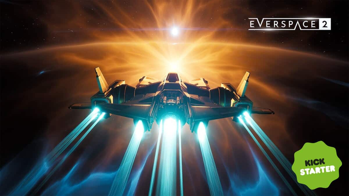 EVERSPACE 2 space shooter Kickstarter date